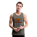LOUISVILLE FIREBIRDS Men's Premium Tank - asphalt gray