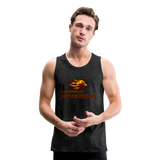 LOUISVILLE FIREBIRDS Men's Premium Tank - charcoal gray