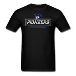 PITTSBURGH PIONEERS UNISEX TEE - black