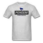 PITTSBURGH PIONEERS UNISEX TEE - heather gray