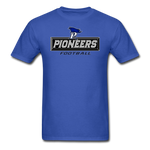 PITTSBURGH PIONEERS UNISEX TEE - royal blue