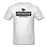 PITTSBURGH PIONEERS UNISEX TEE - light heather gray