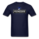 PITTSBURGH PIONEERS UNISEX TEE - navy