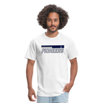 PITTSBURGH PIONEERS UNISEX TEE - white