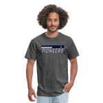 PITTSBURGH PIONEERS UNISEX TEE - heather black