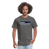PITTSBURGH PIONEERS UNISEX TEE - charcoal