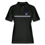 PITTSBURGH PIONEERS Women's Pique Polo Shirt - black