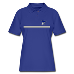 PITTSBURGH PIONEERS Women's Pique Polo Shirt - royal blue