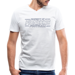 PITTSBURGH PIONEERS Men's V-Neck T-Shirt - white