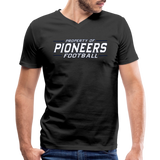 PITTSBURGH PIONEERS Men's V-Neck T-Shirt - black