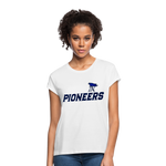 PITTSBURGH PIONEERS Women's Relaxed Fit T-Shirt - white