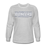 PITTSBURGH PIONEERS Men's Long Sleeve T-Shirt - heather gray
