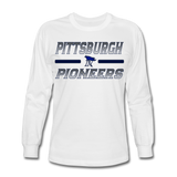 PITTSBURGH PIONEERS Men's Long Sleeve T-Shirt - white