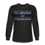 PITTSBURGH PIONEERS Men's Long Sleeve T-Shirt - black