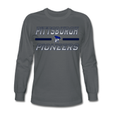 PITTSBURGH PIONEERS Men's Long Sleeve T-Shirt - charcoal