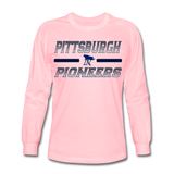 PITTSBURGH PIONEERS Men's Long Sleeve T-Shirt - pink