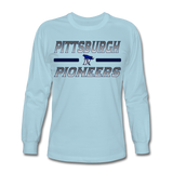 PITTSBURGH PIONEERS Men's Long Sleeve T-Shirt - powder blue