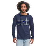 PITTSBURGH PIONEERS Unisex Lightweight Terry Hoodie - heather navy