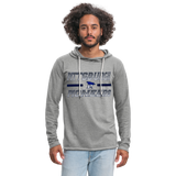 PITTSBURGH PIONEERS Unisex Lightweight Terry Hoodie - heather gray