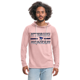 PITTSBURGH PIONEERS Unisex Lightweight Terry Hoodie - cream heather pink