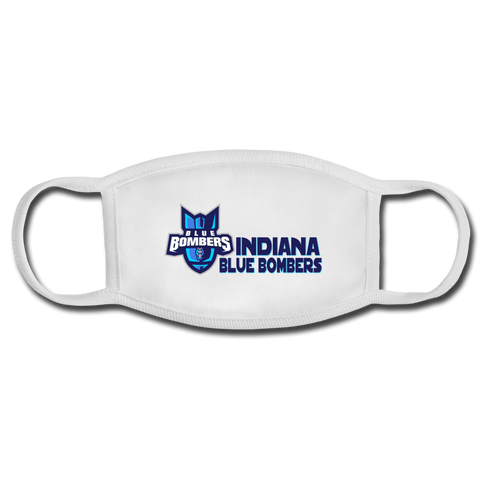 INDIANA BLUE BOMBERS FACEMASK - white/white