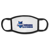 INDIANA BLUE BOMBERS FACEMASK - white/black