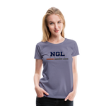 NGL WOMEN'S PREMIUM TEE - washed violet