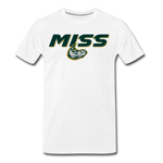 MISSISSIPPI MUDCATS SPECIALITY MEN'S PREMIUM TEE - white