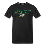 MISSISSIPPI MUDCATS SPECIALITY MEN'S PREMIUM TEE - black