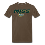 MISSISSIPPI MUDCATS SPECIALITY MEN'S PREMIUM TEE - noble brown