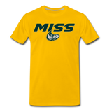 MISSISSIPPI MUDCATS SPECIALITY MEN'S PREMIUM TEE - sun yellow