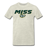 MISSISSIPPI MUDCATS SPECIALITY MEN'S PREMIUM TEE - heather oatmeal