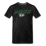 MISSISSIPPI MUDCATS SPECIALITY MEN'S PREMIUM TEE - charcoal gray