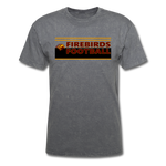 LOUISVILLE FIREBIRDS UNISEX TEE - mineral charcoal gray