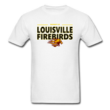 LOUISVILLE FIREBIRDS UNISEX TEE - white