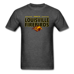 LOUISVILLE FIREBIRDS UNISEX TEE - heather black