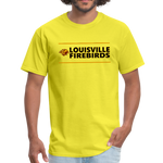 LOUISVILLE FIREBIRDS UNISEX TEE - yellow