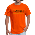 LOUISVILLE FIREBIRDS UNISEX TEE - orange