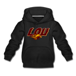 LOUISVILLE FIREBIRDS KID'S PREMIUM HOODIE - black