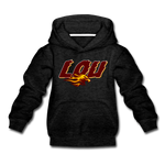 LOUISVILLE FIREBIRDS KID'S PREMIUM HOODIE - charcoal gray