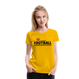 BATON ROUGE REDSTICKS WOMEN'S PREMIUM TEE - sun yellow