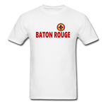BATON ROUGE REDSTICKS UNISEX TEE - white