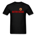 BATON ROUGE REDSTICKS UNISEX TEE - black