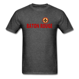 BATON ROUGE REDSTICKS UNISEX TEE - heather black