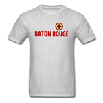 BATON ROUGE REDSTICKS UNISEX TEE - heather gray