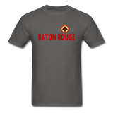 BATON ROUGE REDSTICKS UNISEX TEE - charcoal