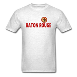 BATON ROUGE REDSTICKS UNISEX TEE - light heather gray