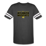 ATLANTA WILDCATS UNISEX VINTAGE SPORTS TEE - vintage smoke/white