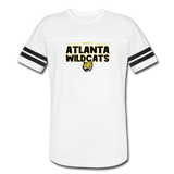 ATLANTA WILDCATS UNISEX VINTAGE SPORTS TEE - white/black