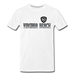 VIRGINIA BEACH DESTROYERS MEN'S PREMIUM TEE - white
